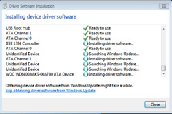 Installing driver upgrades